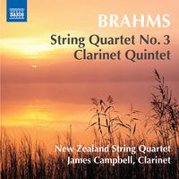 ブラームス: 弦楽四重奏曲第3番/クラリネット五重奏曲