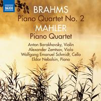 ブラームス: ピアノ四重奏曲第2番/マーラー: ピアノ四重奏曲 イ短調