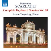 ドメニコ・スカルラッティ: 鍵盤のためのソナタ集 第20集