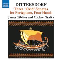 ディッタースドルフ: オウィディウスの「変身物語」による3つのソナタ集(4手によるフォルテピアノ版)