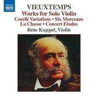 ヴュータン: ヴァイオリン作品集 6つの小品/狩り/練習曲集