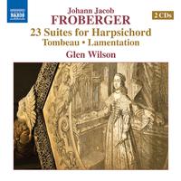 フローベルガー: ハープシコードのための23の組曲