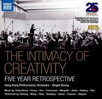 THE INTIMACY OF CREATIVITY - 香港フィルハーモニー管弦楽団とブライト・シェン、5年間の回顧