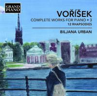 ヴォジーシェク: ピアノ作品全集 第3集 12の狂詩曲 Op.1