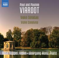 ポール/ポーリーヌ・ヴィアルド: ヴァイオリンのためのソナタとソナチネ集