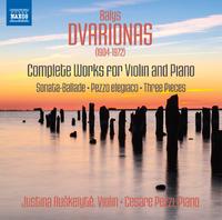 ドヴァリョーナス: ヴァイオリンとピアノのための作品全集