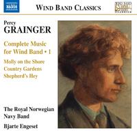 グレインジャー: 吹奏楽のための作品全集 第1集