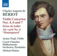 シャルル・オーギュスト・ド・ベリオ: ヴァイオリン協奏曲集