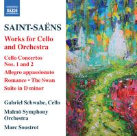 サン=サーンス: チェロと管弦楽のための作品集