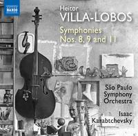ヴィラ=ロボス: 交響曲第8番/第9番/第11番