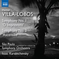 ヴィラ=ロボス: 交響曲第1番/第2番