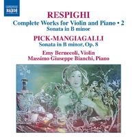 レスピーギ: ヴァイオリンとピアノのための作品全集 第2集