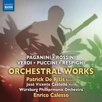 イタリアの管弦楽作品集