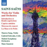 サン=サーンス: ヴァイオリンと管弦楽のための作品集