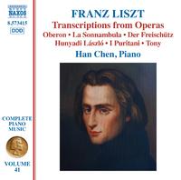 リスト: ピアノ曲全集 第41集 オペラからの編曲集