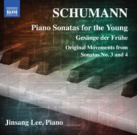 シューマン: 子供のためのピアノ・ソナタ集 Op. 118/暁の歌