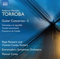 モレノ・トローバ: ギター協奏曲集 第2集