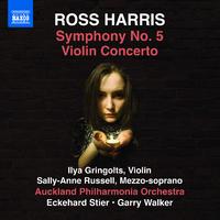 ロス・ハリス: 交響曲第5番/ヴァイオリン協奏曲