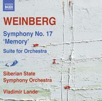 ミェチスワフ・ヴァインベルク: 交響曲第17番「記憶」/他