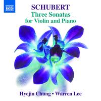 シューベルト: ヴァイオリンとピアノのためのソナチネ集