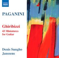 パガニーニ: ギターのための43の小品集「気まぐれ」MS43