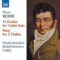 ローデ: 12の練習曲/二重奏曲集