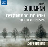 シューマン: ピアノ・デュオのための編曲集 第3集