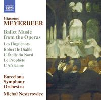 マイアベーア: オペラからのバレエ音楽集