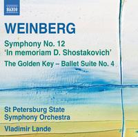 ヴァインベルク: 交響曲第12番「D.ショスタコーヴィチへの思い出に」/他