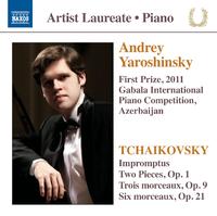 期待の新進演奏家シリーズ/アンドレイ・ヤロシンスキー ピアノ・リサイタル チャイコフスキー(1840-1893):