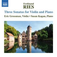 フェルディナント・リース: ヴァイオリンとピアノのための3つのソナタ集