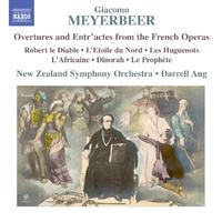 マイアベーア: フランス・オペラからの序曲と間奏曲集