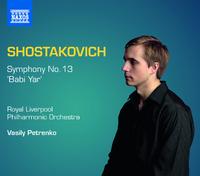 ショスタコーヴィチ: 交響曲第13番「バビ・ヤール」Op.113