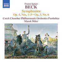 フランツ・イグナツ・ベック: 交響曲集 Op. 4, Nos. 1-3, Op. 3, No. 6