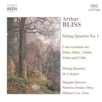 ブリス: 室内楽曲集第1集「弦楽四重奏曲集」/フルート、オーボエ、ヴァイオリン、ヴィオラとチェロのための対話