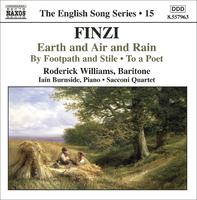 フィンジ: 英国歌曲シリーズ 第15集