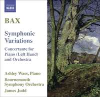バックス: 交響的変奏曲/左手のためのピアノコンチェルタンテ