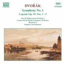 ドヴォルザーク: 交響曲第1番「ズロニツェの鐘」/伝説曲(第1番 - 第5番)/スティーヴン・ガンゼンハウザー(指揮)/スロヴァキア・フィルハーモニー管弦楽団/スロヴァキア放送交響楽団