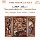 ホワイト/タリス/パレストリーナ/ラッスス: エレミアの哀歌/ジェレミー・サマリー(指揮)/オックスフォード・カメラータ