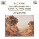 パガニーニ: ヴァイオリンとギターのための作品集 I/スコット・セント・ジョン(ヴァイオリン)/サイモン・ワインバーグ(ギター)