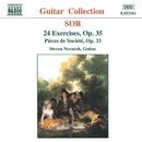ソル: 24の練習曲集 Op. 35/3つの社交的小品 Op. 33/スティーヴン・ノヴァーチェク(ギター)