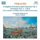 ヴェラチーニ: 序曲と協奏曲集 第1集/アルベルト・マルティーニ(指揮)/アカデミア・イ・フィラルモニチ