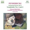 ペンデレツキ: 管弦楽曲集 第3集 -  交響曲第2番/第4番/アントニ・ヴィト(指揮)/ポーランド国立放送交響楽団
