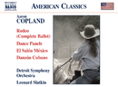 コープランド: ロデオ/ダンス・パネルズ/他/レナード・スラットキン(指揮)/デトロイト交響楽団