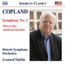 コープランド: 交響曲第3番/他/レナード・スラットキン(指揮)/デトロイト交響楽団