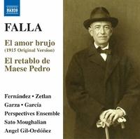 ファリャ: バレエ音楽「恋は魔術師」/歌劇「ペドロの親方と人形芝居」