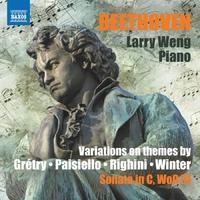 ベートーヴェン: ピアノ変奏曲集