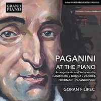 パガニーニをピアノで 5人の作曲家による編曲と変奏曲集