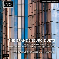 J.S.バッハ: ブランデンブルク協奏曲集(ビンドマンによるピアノ・デュオ編)