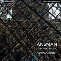 タンスマン: ピアノ作品集